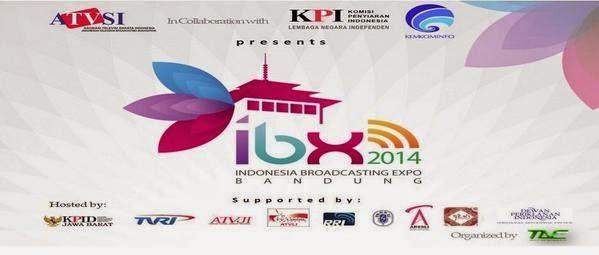 Indonesia Broadcasting Expo (29 - 31 Oktober 2014) di Trans Studio Mall Bandung