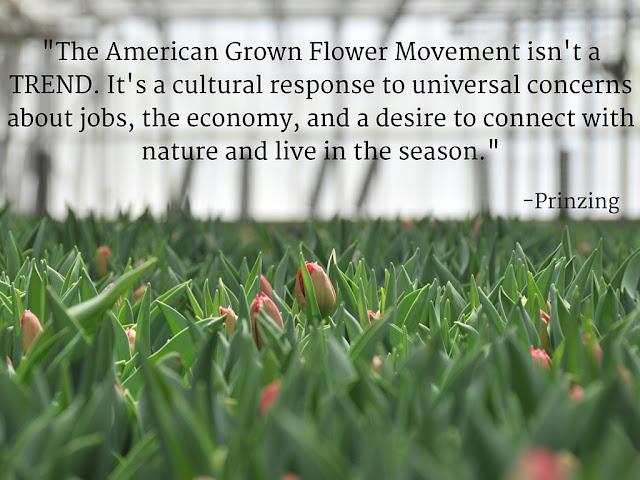 American Flowers Week Prinzing