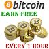 Earn Free Bitcoins Every Hour