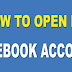 Open New Facebook Account Gmail