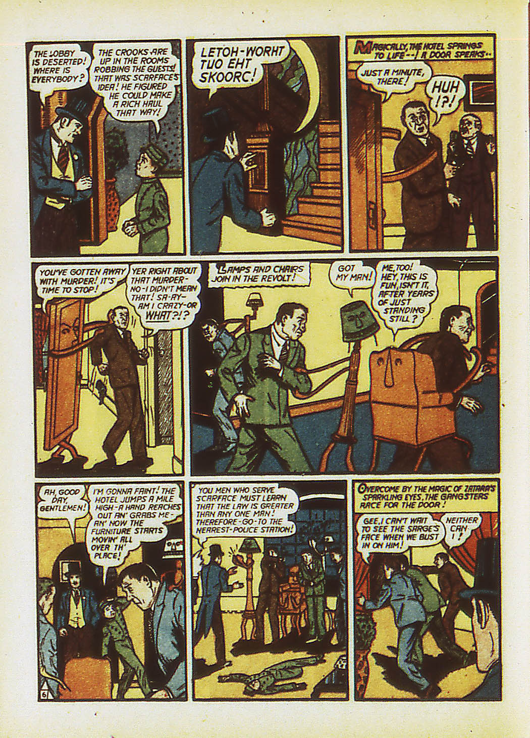 Read online Action Comics (1938) comic -  Issue #34 - 63