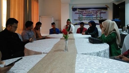 Gelar FGD, Aliansi OKP Sumatera Barat Tolak People Power
