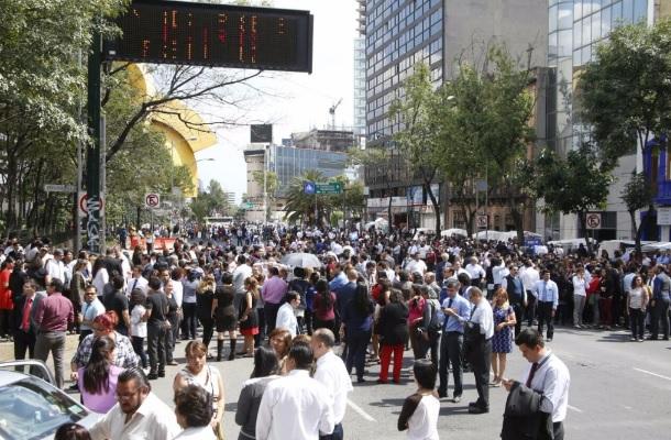 Terremotos México