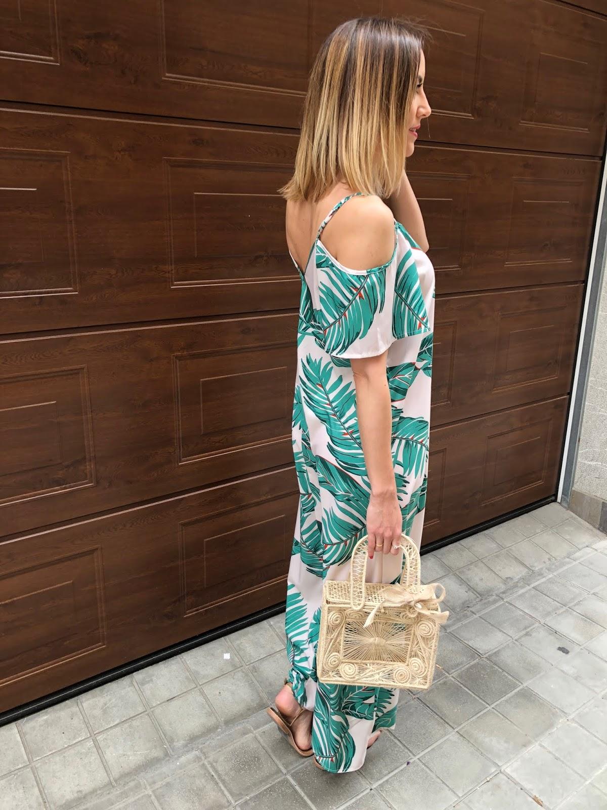 Fitness And Chicness-Leaf Print Dresses La Familia-3