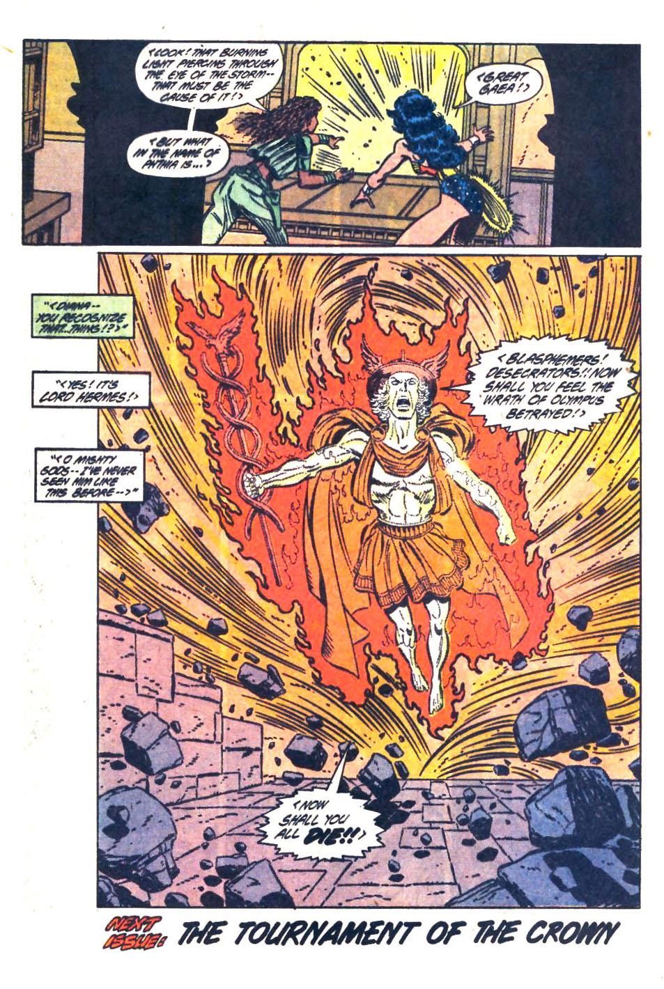 Read online Wonder Woman (1987) comic -  Issue #33 - 23