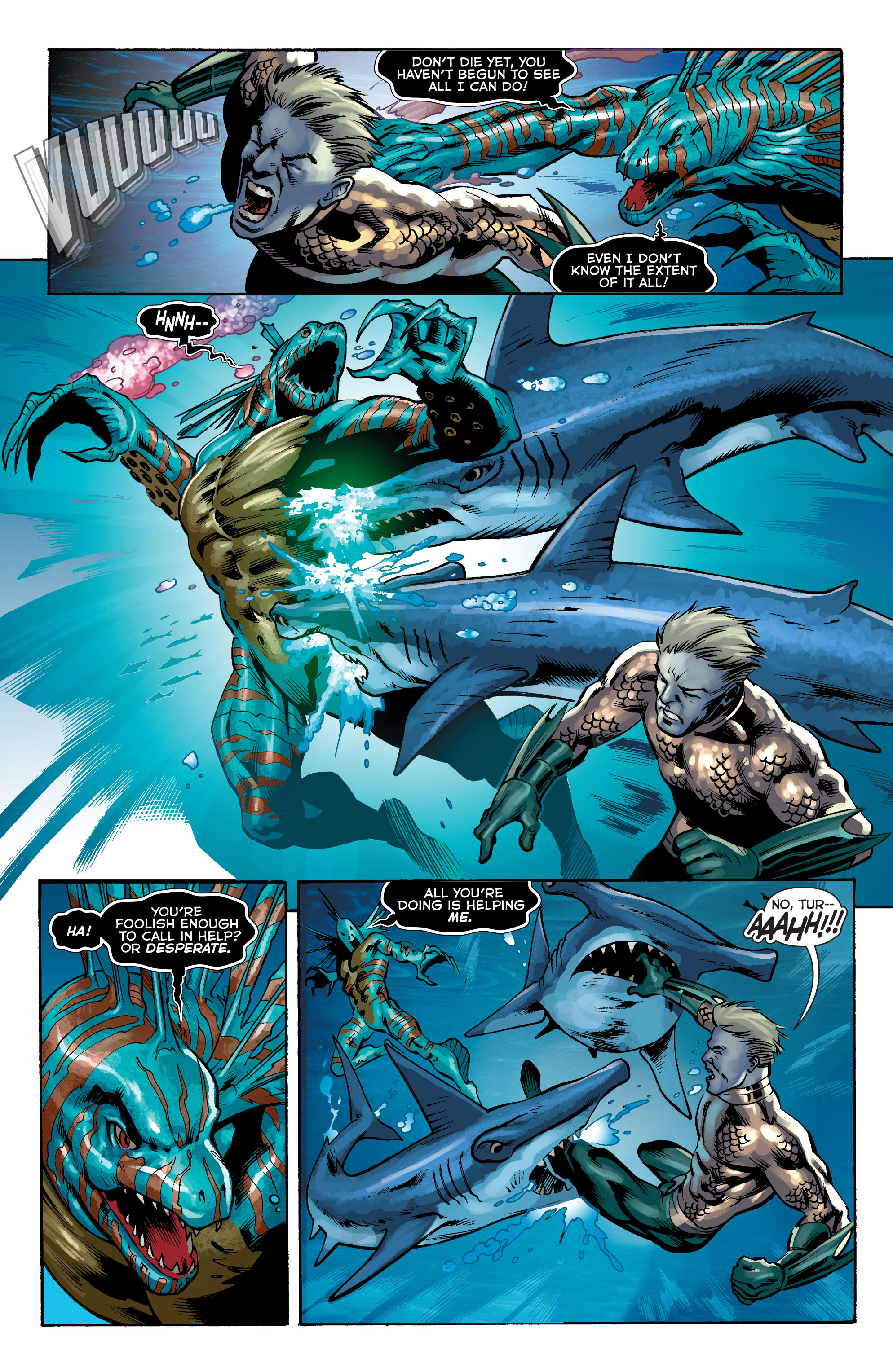 Read online Aquaman (2011) comic -  Issue #34 - 6