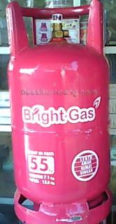 Harga Bright Gas 5,5 KG | Kemasan Elpiji Model Terbaru