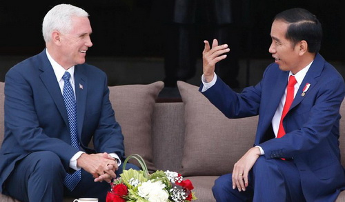 Tinuku Joko Widodo and Mike Pence preparing new trade concept to replace TPP