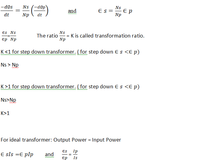 Transformer 12 class Physics notes | NCERT Notes