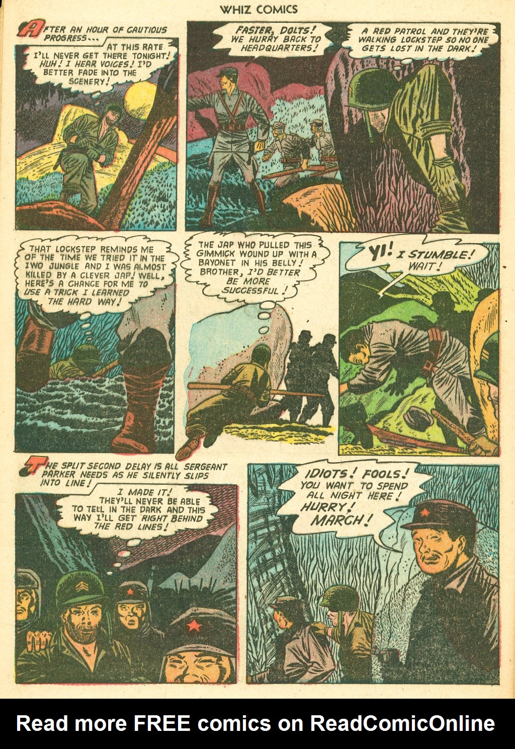 WHIZ Comics #155 #156 - English 32