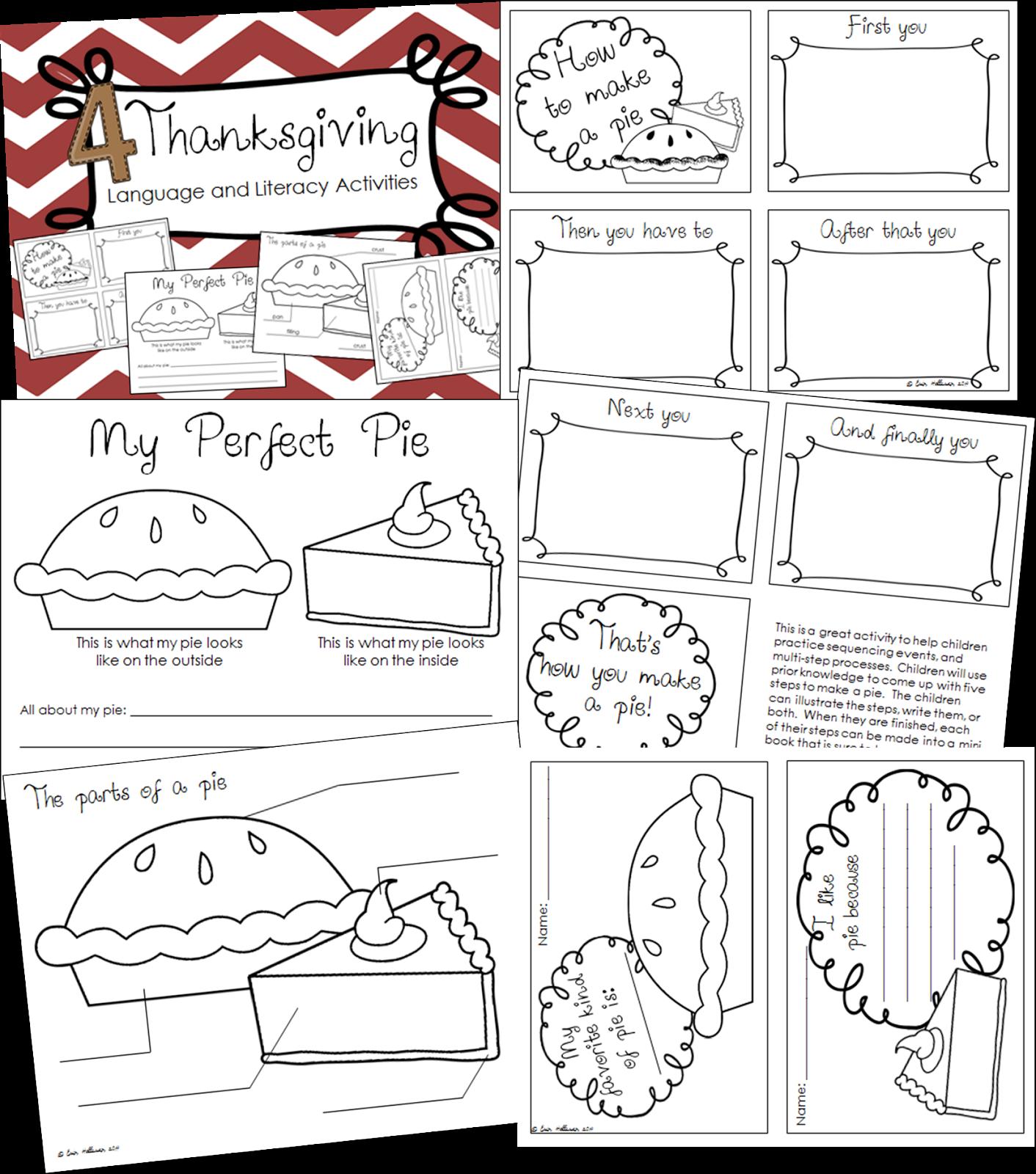 Preschool Ponderings Thanksgiving Activities For Preschool