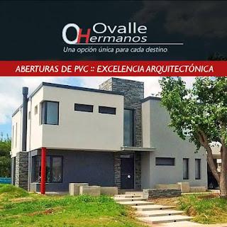 Aberturas de PVC en vivienda en Haras Santa María de Casas