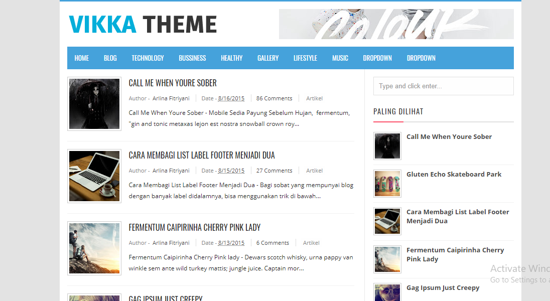 Best Responsive Blogger Templates Mobile Friendly Free Download ...