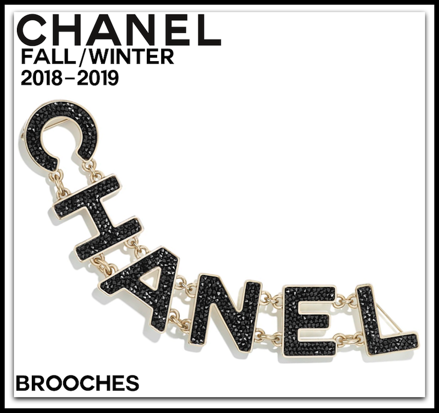 CHANEL FALL/WINTER 2018/2019 COSTUME JEWELRY