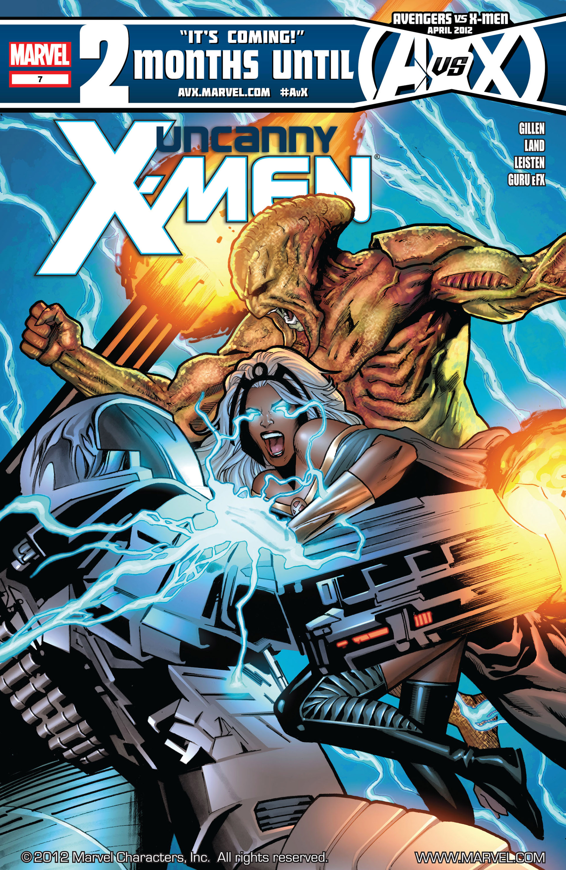 Read online Uncanny X-Men (2012) comic -  Issue #7 - 1