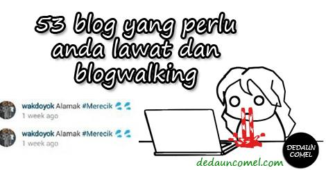 cara melakukan blogwalking, effektif, berkesan, blogwalking list