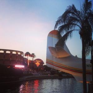 Dusk at Universal CityWalk