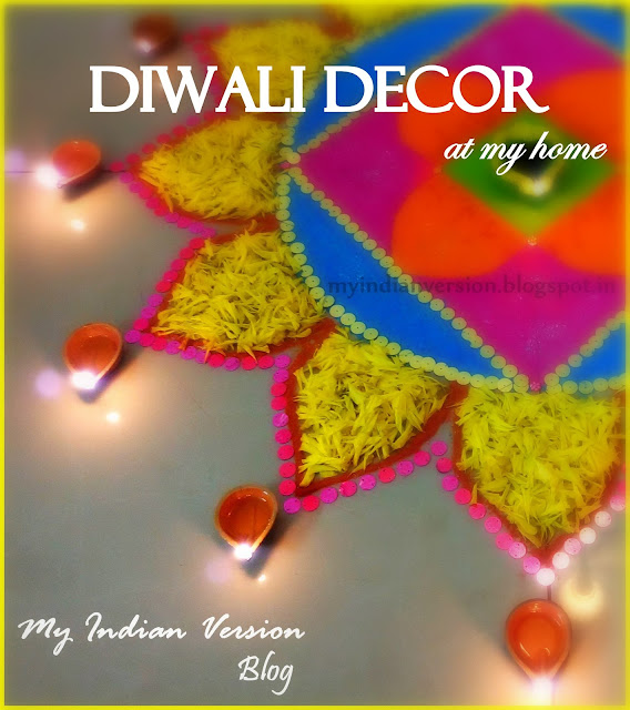 Diwali Decoration at My Home