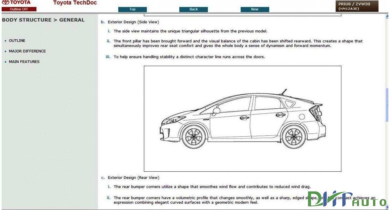 TOYOTA       PRIUS    HYBRID ZVW30    SERVICE         REPAIR    MANUAL 2009  2015      Toyota    Workshop Manual