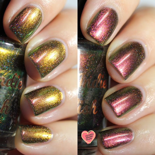 My Indie Polish Merry Christmas swatch by Streets Ahead Style