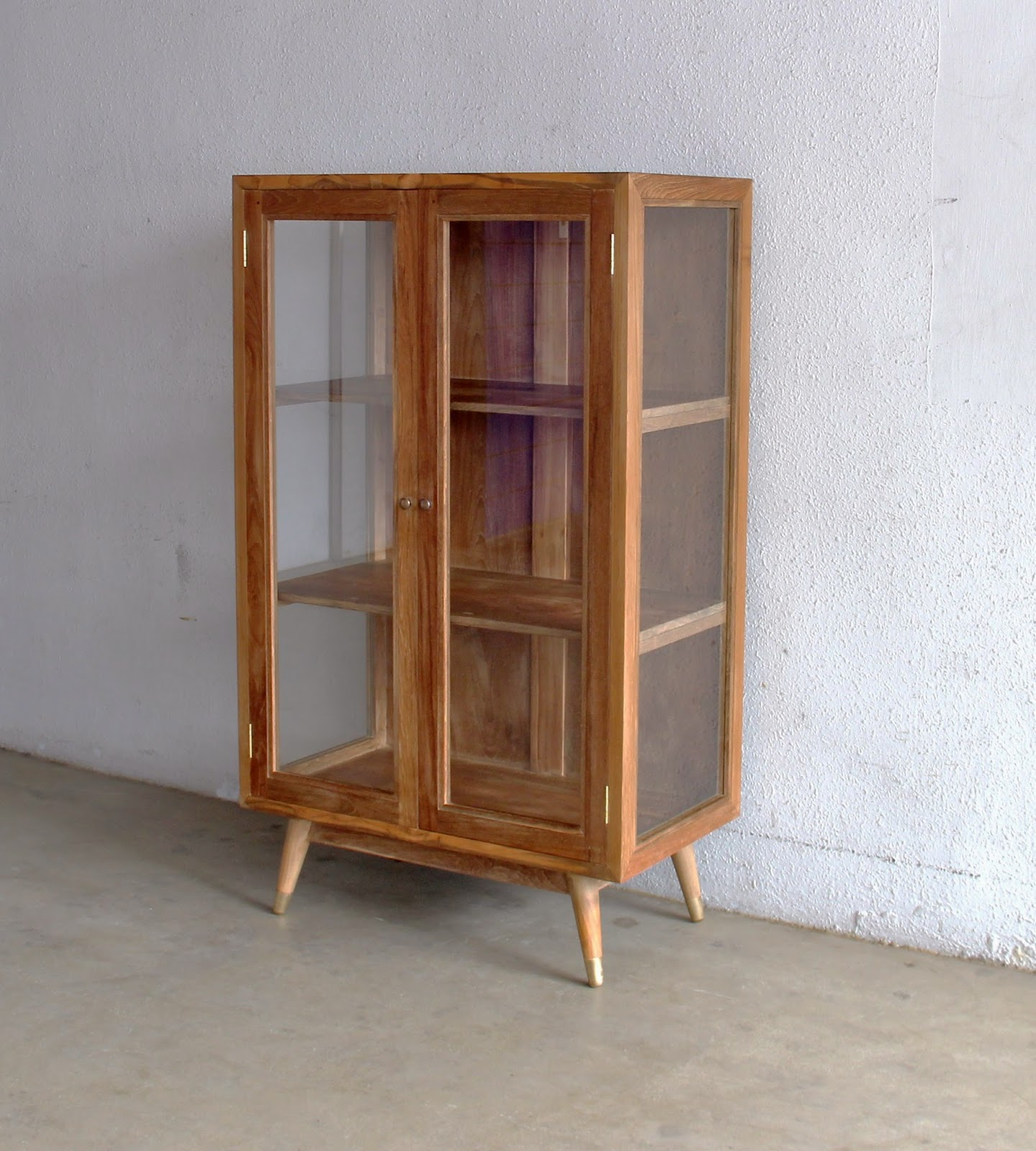 Glass Display Cabinets Perth Second Charm Furniture Vintage Style Showcases Ashley