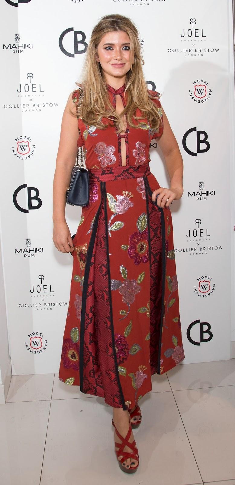 Lauren Hutton at Joel Swimwear X Collier Bristow Press Launch in London