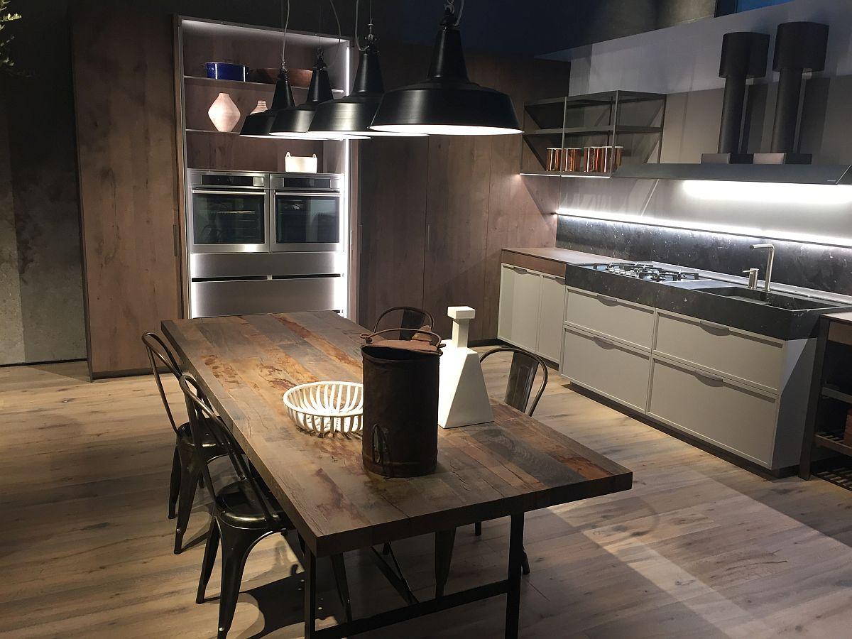 Cozinhas do Salão do Móvel de Milão 2016 Design Innova #8D633E 1200 900