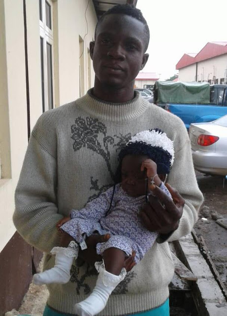 man kidnaps 6 month old baby oshodi lagos