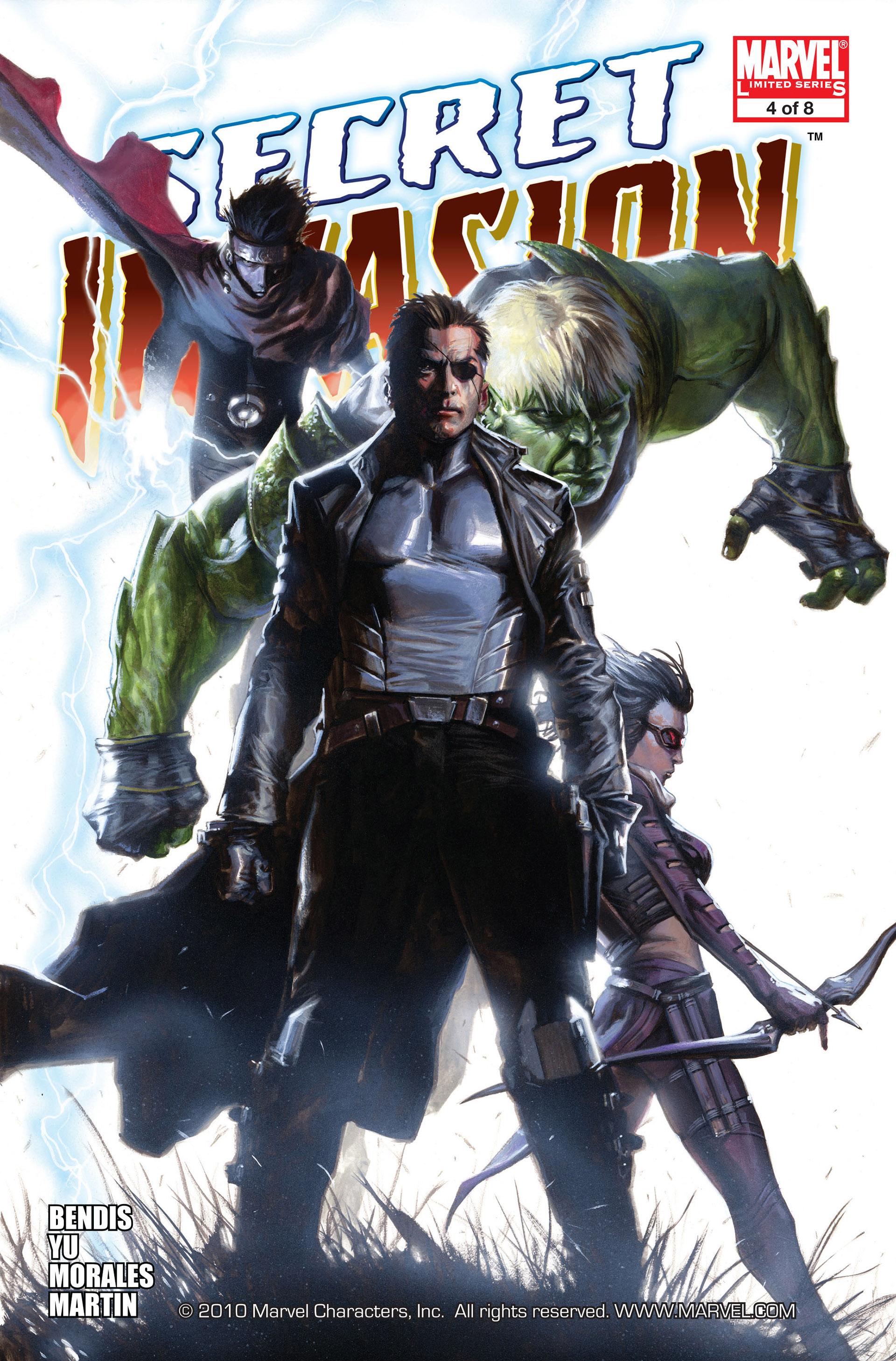 Read online Secret Invasion comic -  Issue #4 - 1