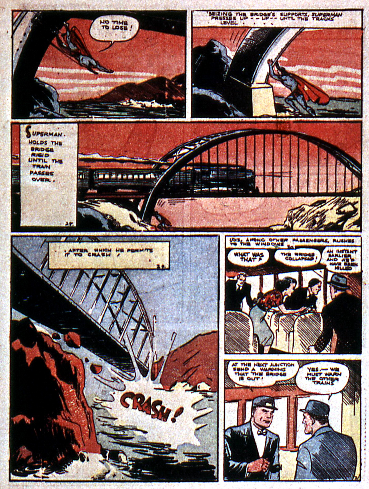 Read online Action Comics (1938) comic -  Issue #5 - 7