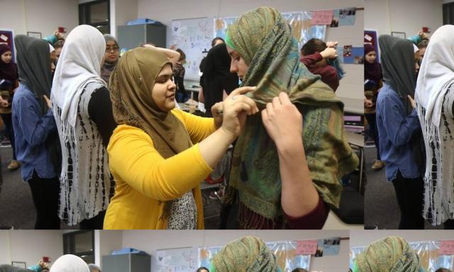 Siswi Non-Muslim Amerika Ramai Berhijab, Ada Apakah?