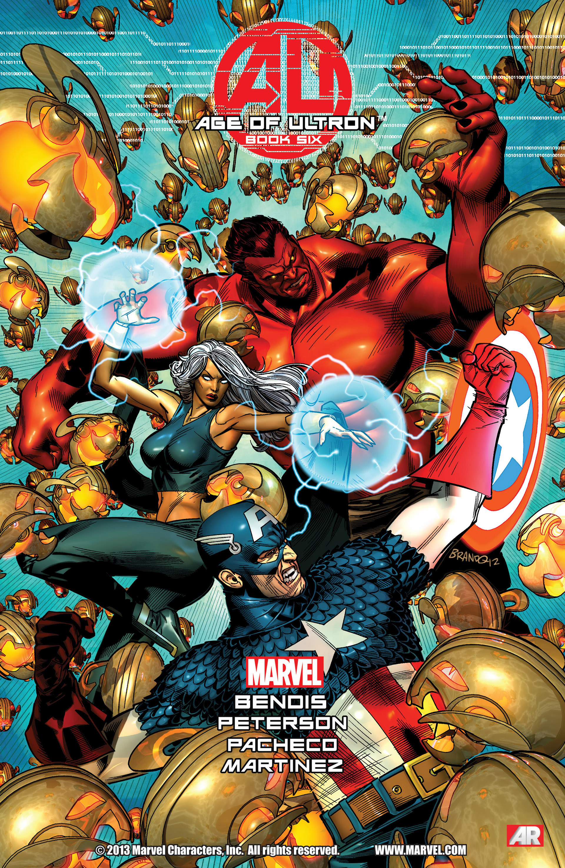 Read online Age of Ultron comic -  Issue #6 - 1