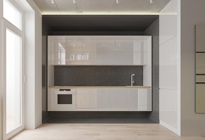 Thiết kế nội thất căn hộ chung cư nhỏ 42m2- 6