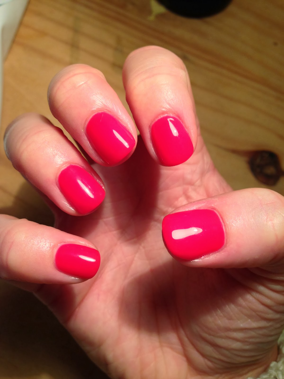Brush Up And Polish Up!: CND Shellac Lobster Roll