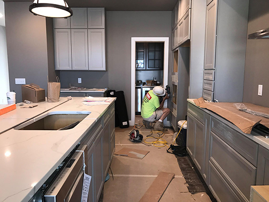 Construction on the St. Louis St. Jude Dream Home Giveaway 2017