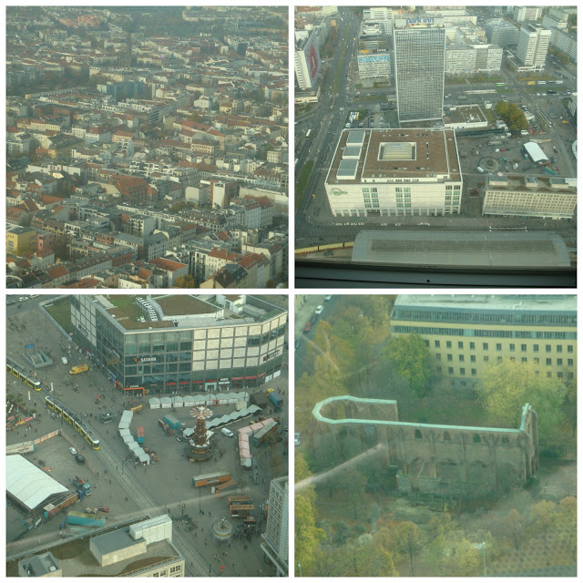 vista da Torre de TV (Fernsehturm), Berlim