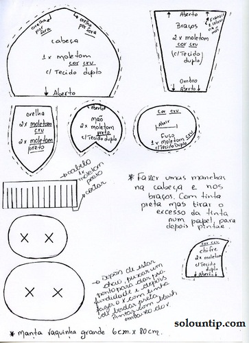 Moldes de vaquitas para la cocina for Moldes de cocina