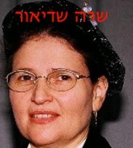 שופטת שרה שדיאור - דחתה בקשת עיון בתיק עובדת ציבור בענייני נפשות המואשמת בפשעים נגד האנושות ובעל עבריין בורשע במרמה והפרת אמונים