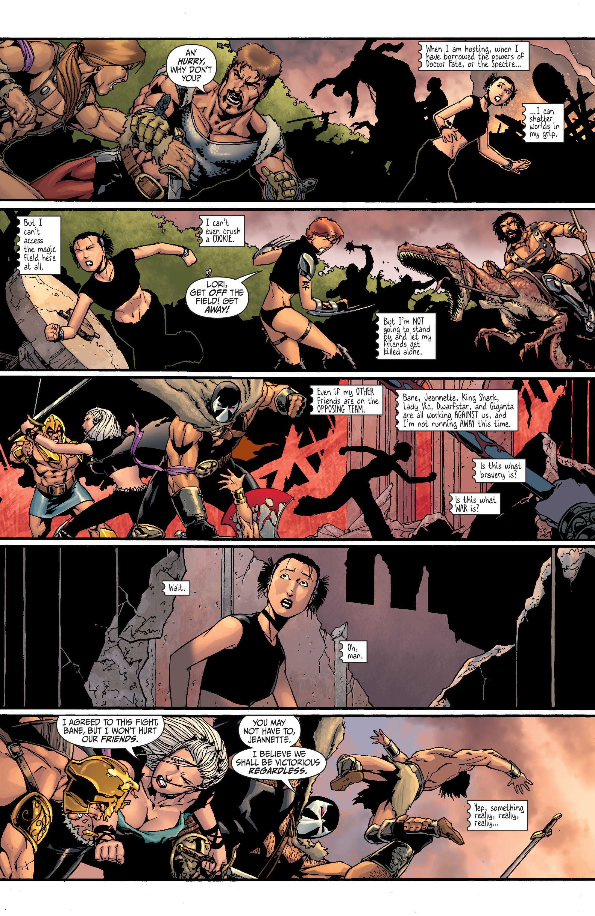 Read online Secret Six (2008) comic -  Issue #28 - 5