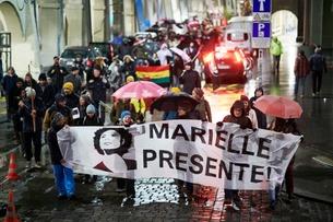 Berna e Genebra homenageiam Marielle Franco