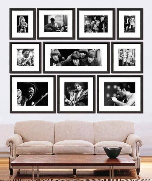Cara Menata Bingkai Foto Di Ruang Tamu - Berbagai Ruang