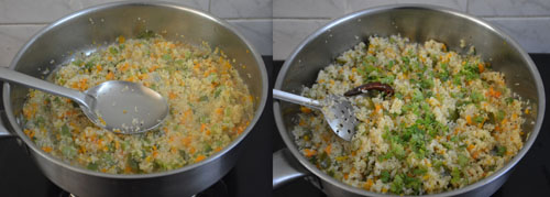 gothumai rava upma with vegetables