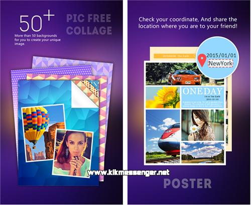Crea collages con tus fotografías usando Fotos Frames for Kik