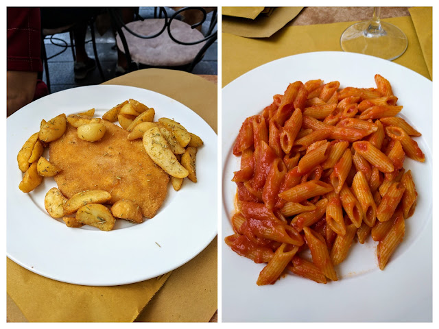 What to eat in Trieste: lunch at Caffe Walter 1907
