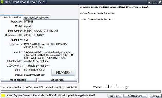 MTK Droid Flashing Tool v2.5.3: