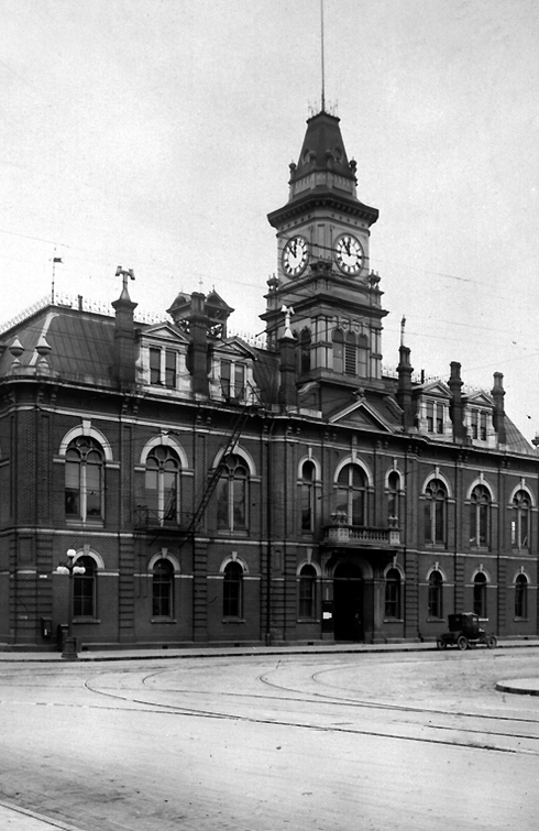 victoria city hall british columbia archival