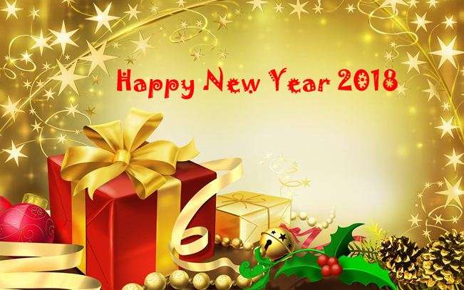 here are few happy new year 2018 wallpaper whatsapp dp