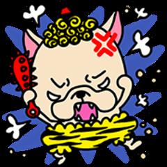 Frebull-chan Setsubun sticker