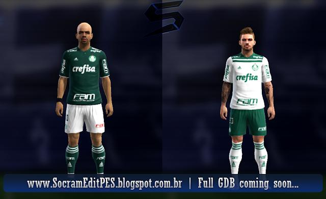 61e97e94b PES 2013 Palmeiras 2018-19 Kits V2