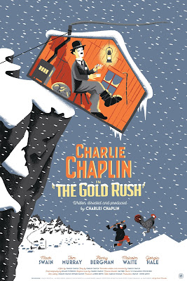 Charlie Chaplin Screen Print Series by Nautilus Art Prints - The Gold Rush by David Merveille